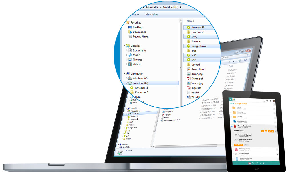 SmartFile delivers enterprise file management with secure file sharing.