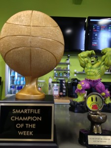 SmartFile Office Trophies with Hulk