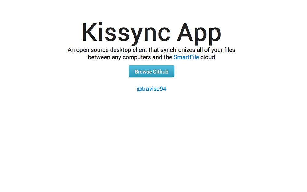 Kissync on Github