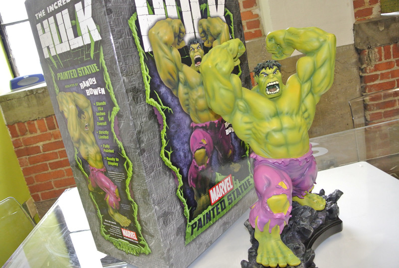 Win a limited edition Hulk statue through SmartFile