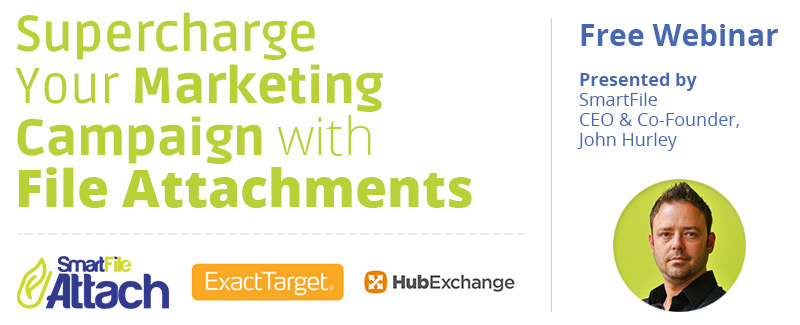 'Supercharge Your Marketing Campaign with Email Attachments' webinar from SmartFile