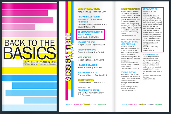 IHSPA 2013: Back to Basics