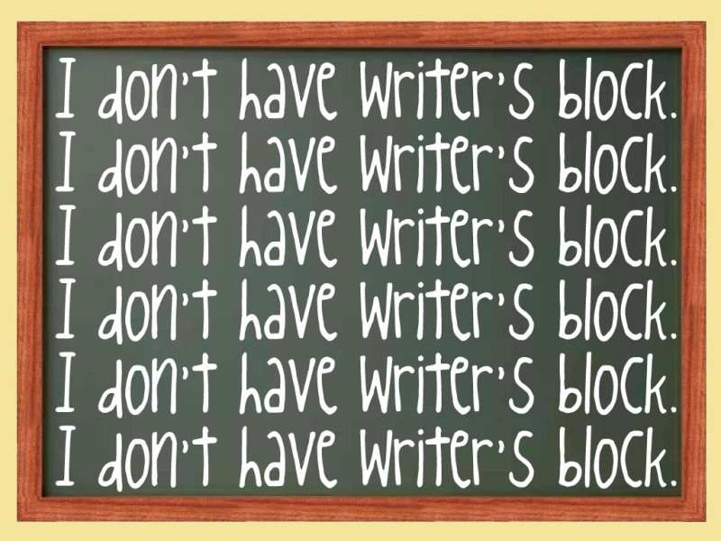 Chalkboard - Writer's Block