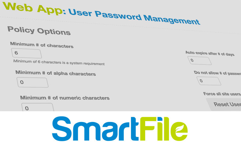 file sharing password management