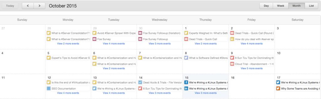 smartfile content calendar editorial calendar