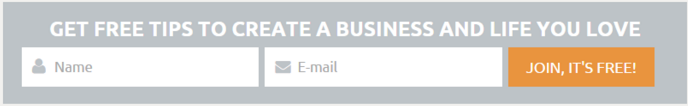 developing marketing forms