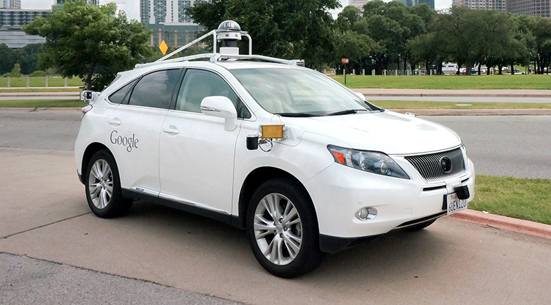 google doesnt care about the driverless car